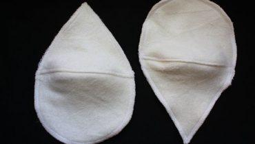 """Tvarované prsní vložky – """"slzy"""""""