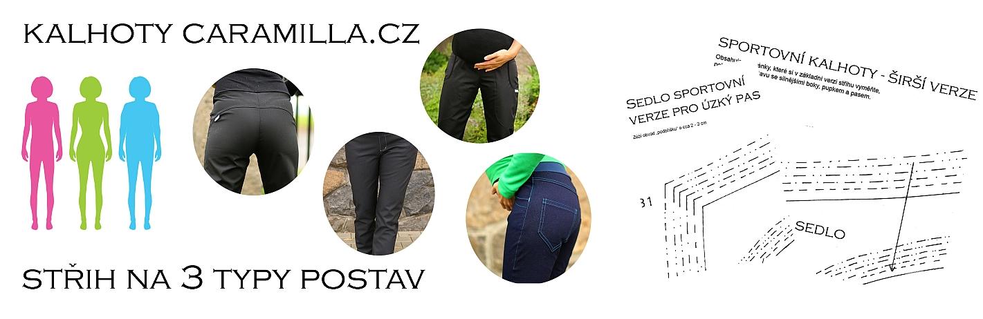 Střih na kalhoty je nyní pro 3 typy postav