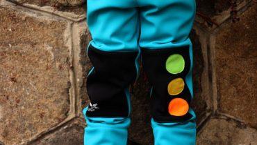 Střih na (nejen) softshellové kalhoty 98 – 116