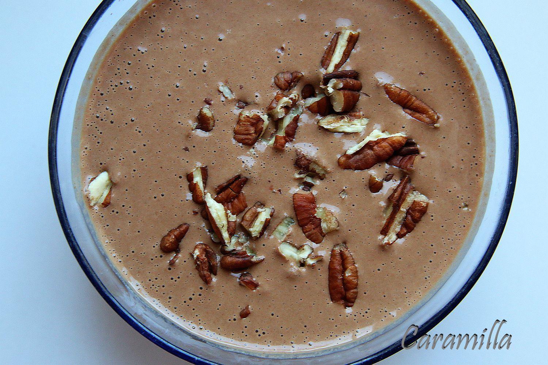 Mixovaná vločková kaše (RAW) a kokosové kakao