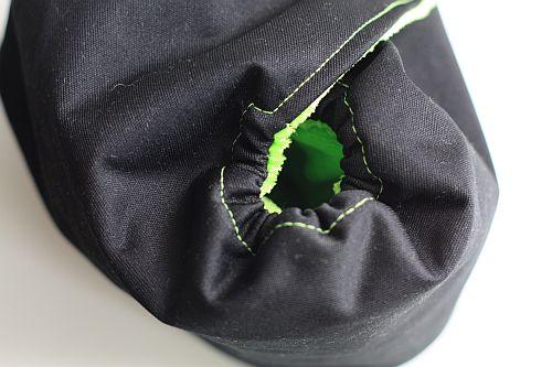 Plenky: Způsoby šití gumičky kolem nožiček
