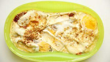 Zdravá omeleta v páře