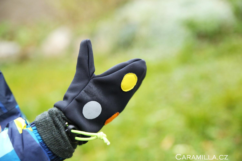 Dětské rukavice (návod a střih)