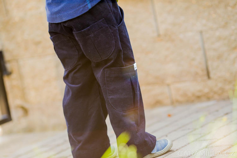 Kalhoty kapsáče v dlouhé verzi