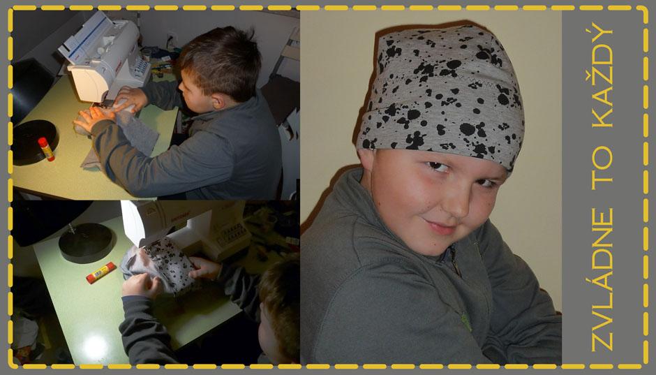 Čepice od Lukáše z 2. třídy