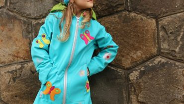 Softshellová delší bunda / kabátek (Střih a fotonávod)