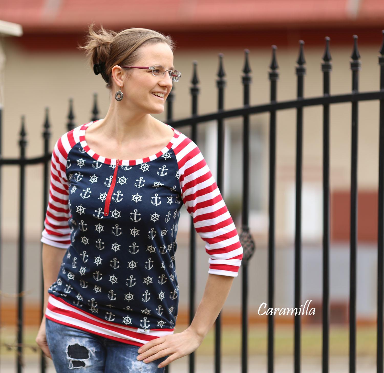 Námořnické kojící triko