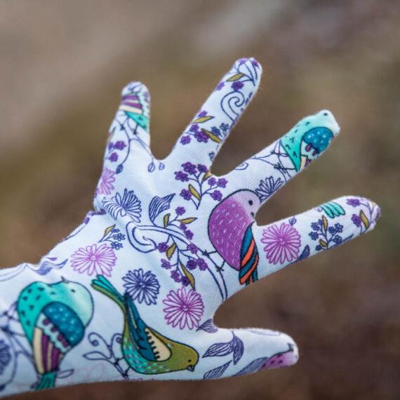 rukavice prstove jak usit strih navod zdarma damske detske (26 z 33)