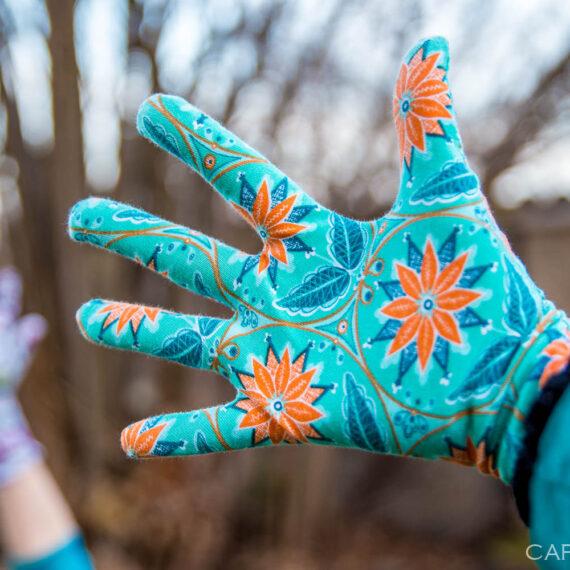 rukavice prstove jak usit strih navod zdarma damske detske (29 z 33)