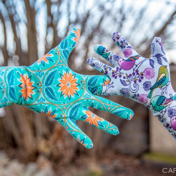 rukavice prstove jak usit strih navod zdarma damske detske (32 z 33)