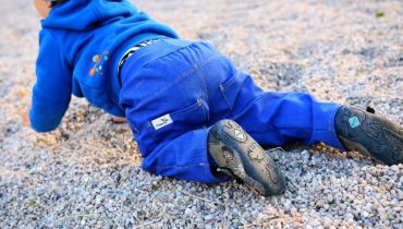 Riflové softshellové kalhoty s knoflíky