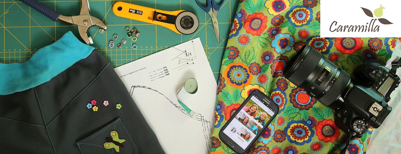 Skupina k šití podle střihů a návodů Caramilla