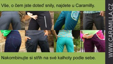 Střih na dámské nejen softshellové kalhoty v mnoha verzích