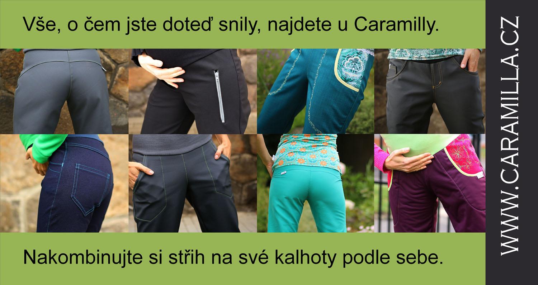Nová verze střihu na dámské kalhoty