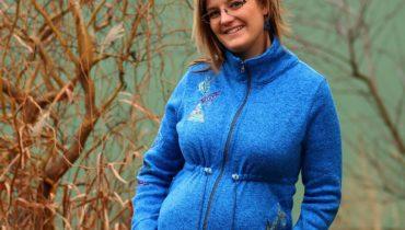 Těhotenská a nosící mikina 3v1