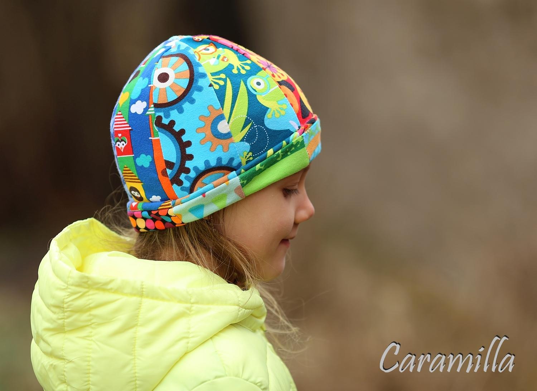 Tři patchworkové čepice
