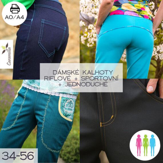 Softshellove kalhoty set