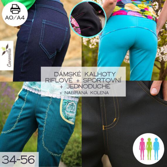 Softshellove kalhoty set s kolenyok