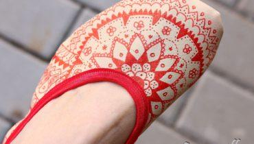 Barefoot baleriny – návod, jak je vyrobit samodomo