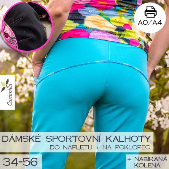 sportovni softshllove kalhoty s koleny
