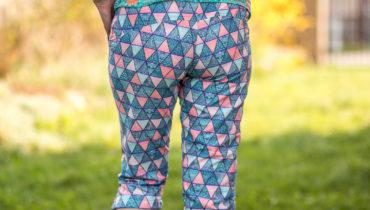 Kalhoty z micropeach