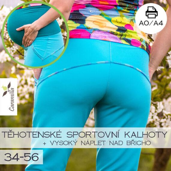 sportovni softshllove kalhoty tehotenske2