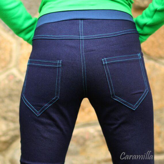 damske tehotenske riflove kalhoty
