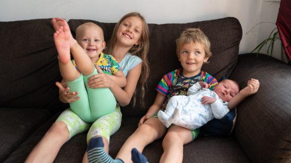 4 děti