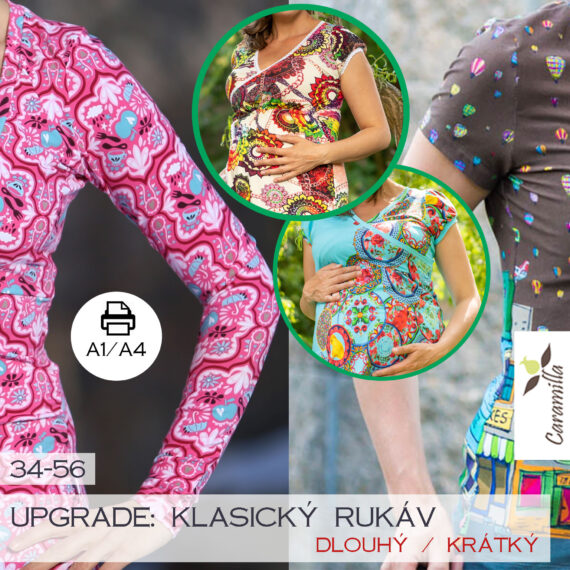 upgrade klasicky rukav