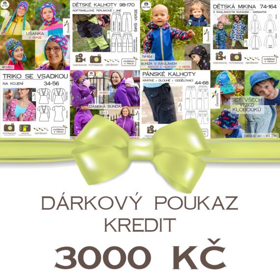 darkovy poukaz3000