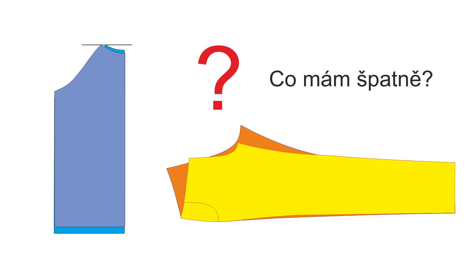 Nejčastější chyby: Střihové díly nejsou stejně dlouhé /  široké?