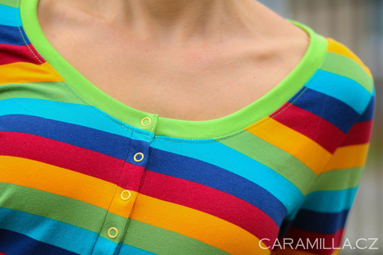 Jak ušít légu / zapínání u trika – Fotonávod