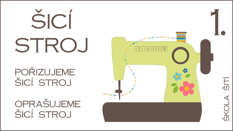 Škola šití: 1. díl – Pořizujeme stroj