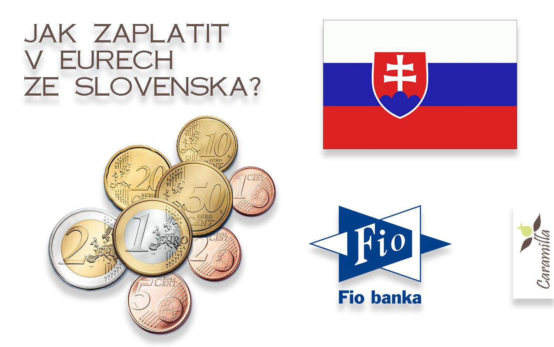 Jak zaplatit ze Slovenska v Eurech bez poplatku