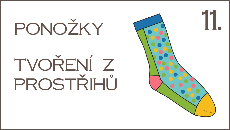 Škola šití: 11. díl – velikonoční speciál, ponožky