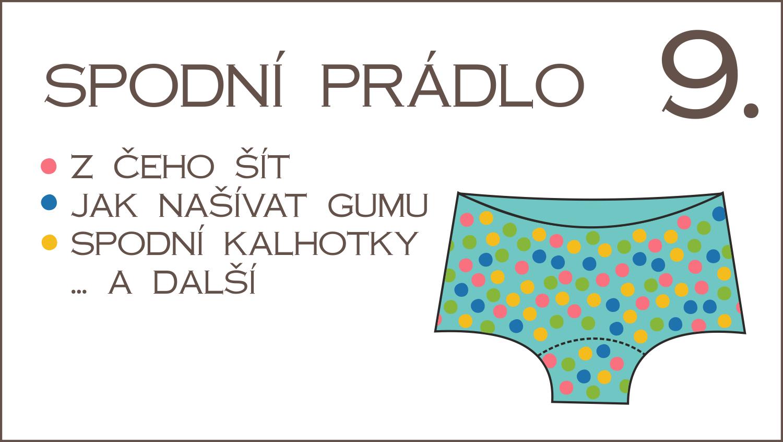 Škola šití 9. díl – spodní prádlo