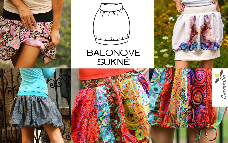 Jak ušít balonovou sukni (druhy  / návody)