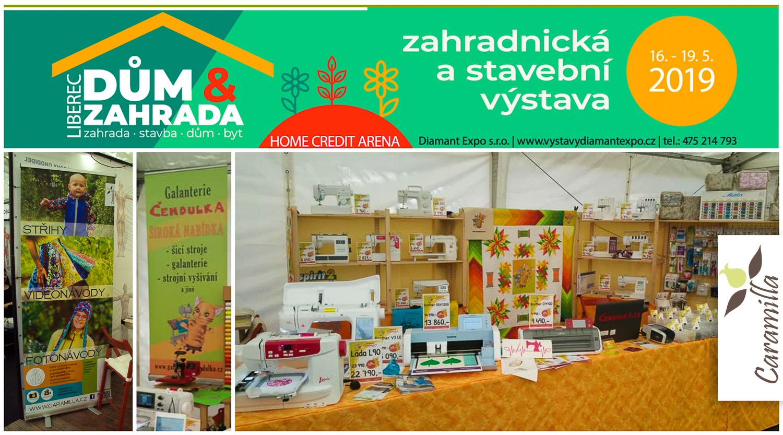 Výstava Dům a zahrada v Liberci, 16. 5. – 19. 5. 2019