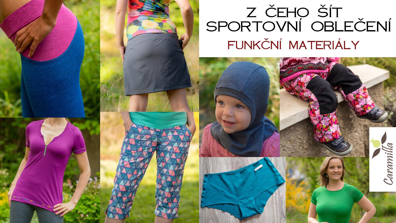 Z čeho šít sportovní oblečení aneb Funkční materiály