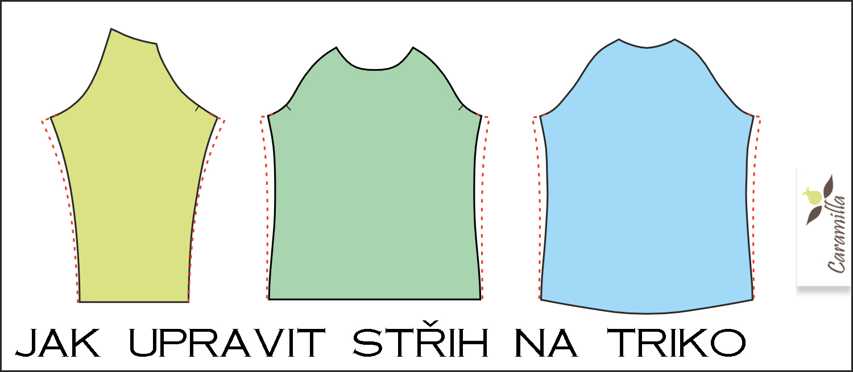 Jak upravit střih na triko
