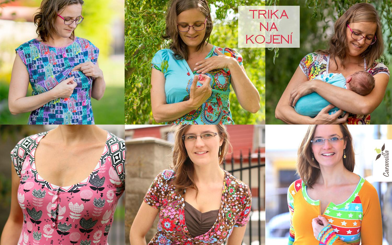 Typy triček na kojení (zkušenosti a ohlédnutí)