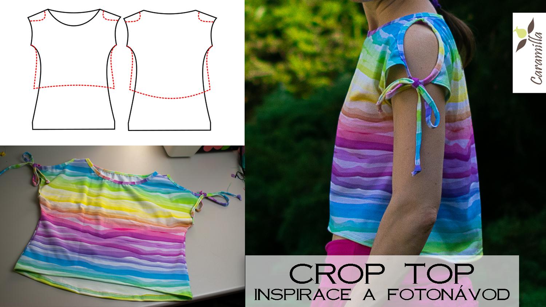 Inspirace a fotonávod: crop top