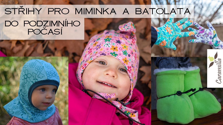 Střihy pro miminka a batolata do podzimního počasí