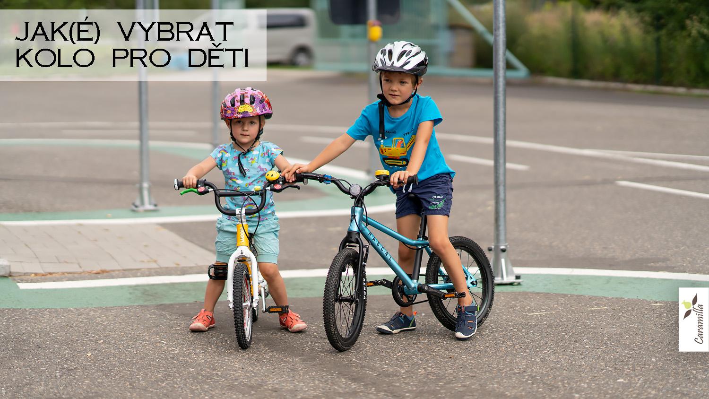 Jak(é) vybrat kolo pro děti