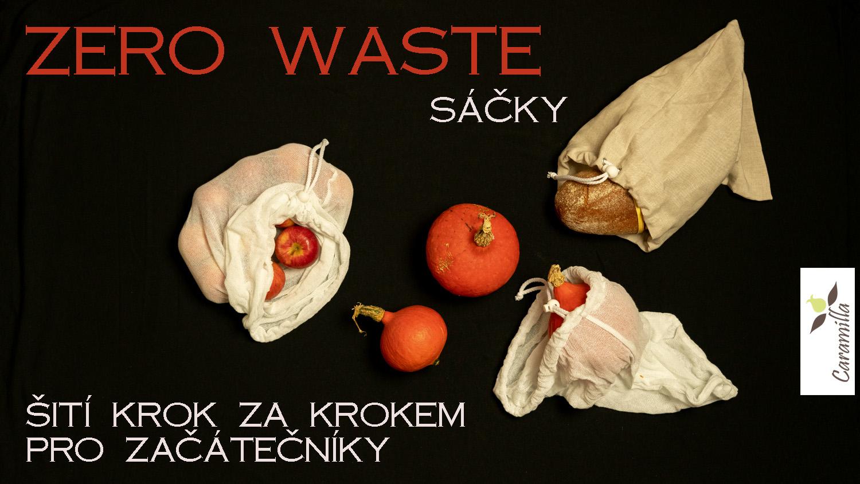 Jak ušít sáček (zero waste, na cvičky, na cokoliv)