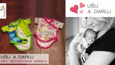 Nedoklubko: Ušij a daruj oblečení pro nedonošené děti