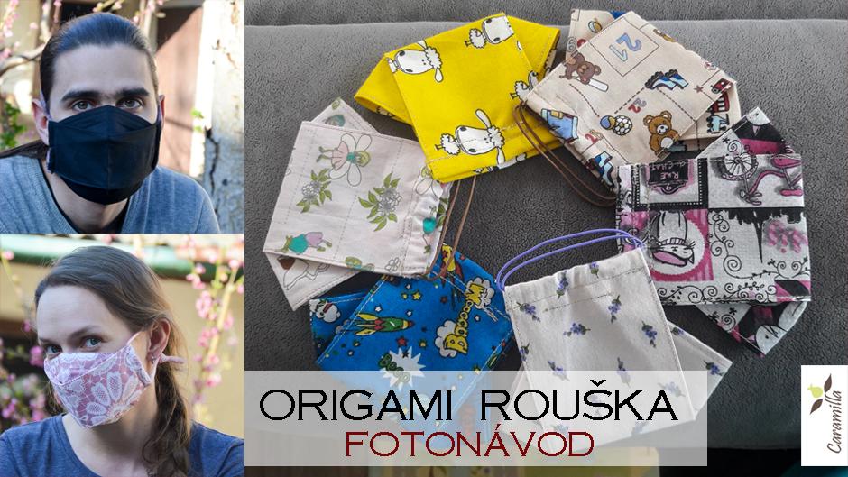 """Origami"" rouška (fotonávod)"