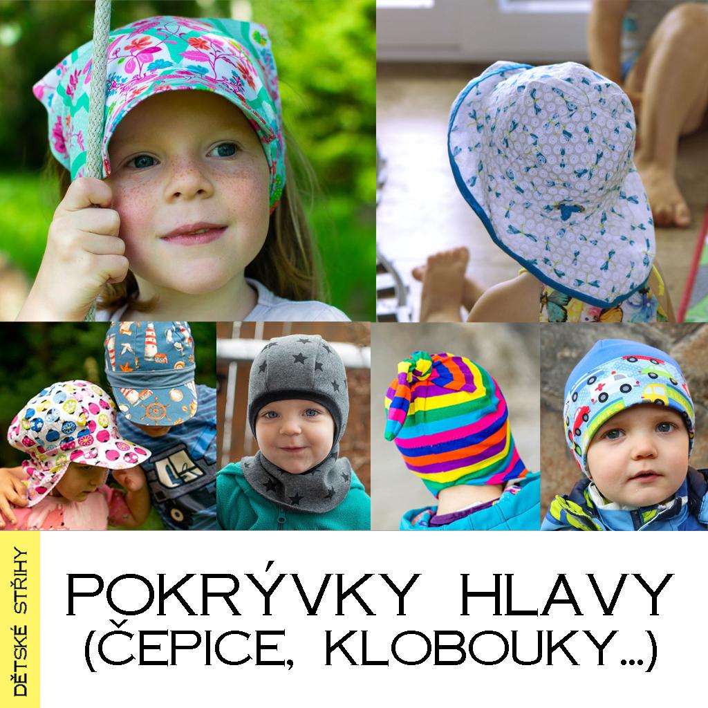 Pokrývky hlavy (čepice, klobouky, ...)